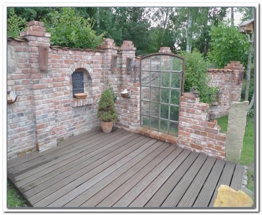 Mauer Garten Selber Bauen
