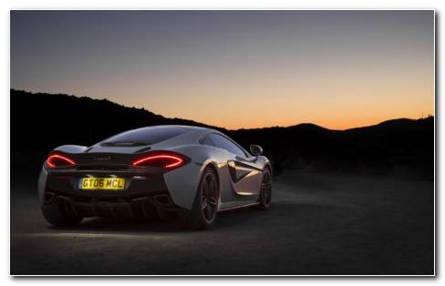 McLaren 570GT HD Wallpaper