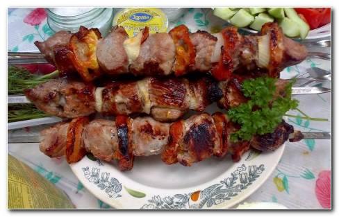 Meat food HD wallpaper