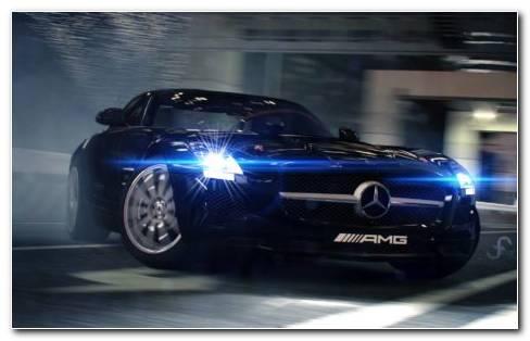 Mercedes AMG GT R HD wallpaper