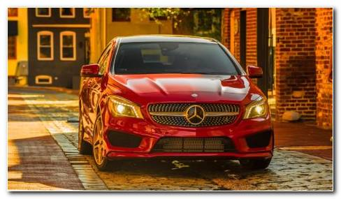 Mercedes Benz CLA Class HD Wallpaper