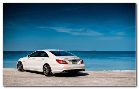 Mercedes CLS 63 HD Wallpaper