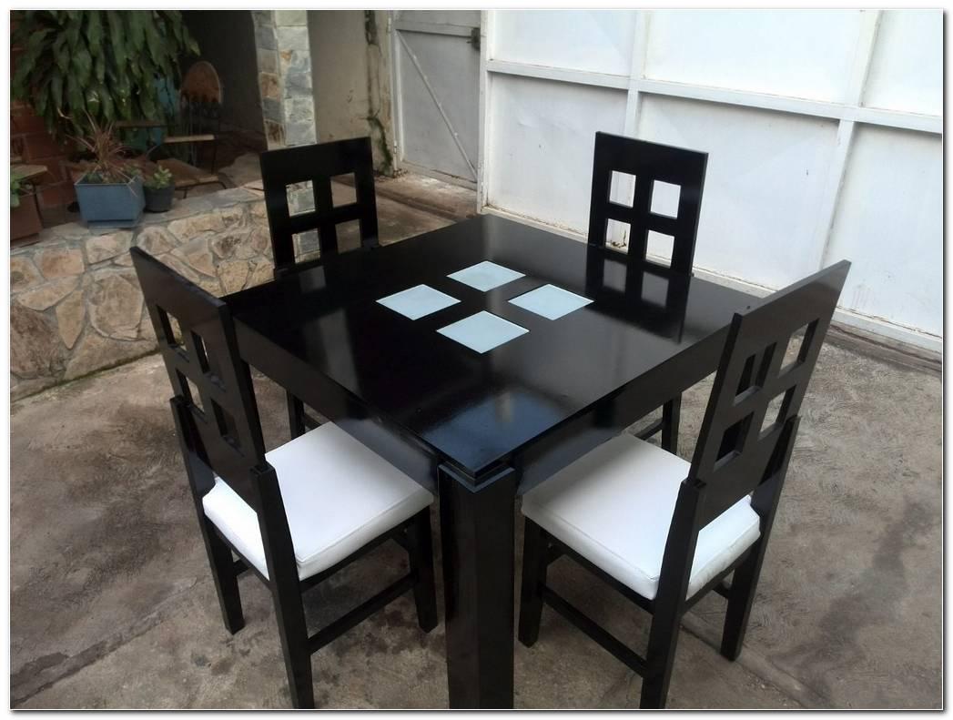 Mesa De Comedor 4 Puestos