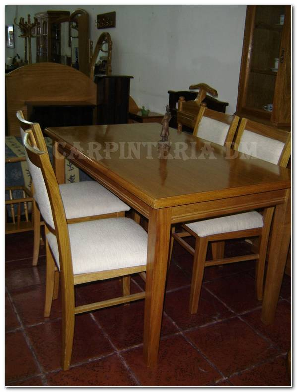 Mesa De Comedor Guatambu
