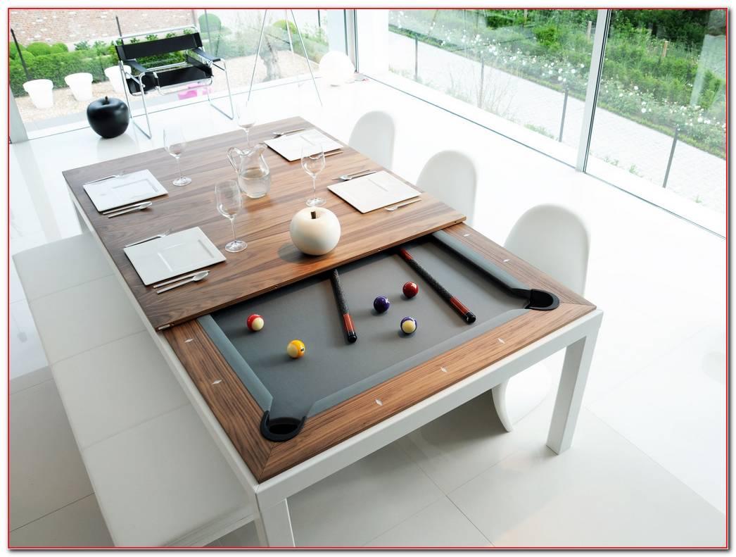 Mesa De Comedor Y Billar