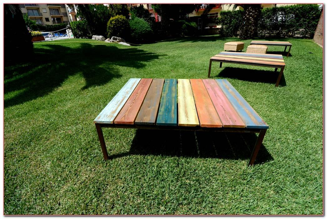 Mesas De Jardin Minimalistas