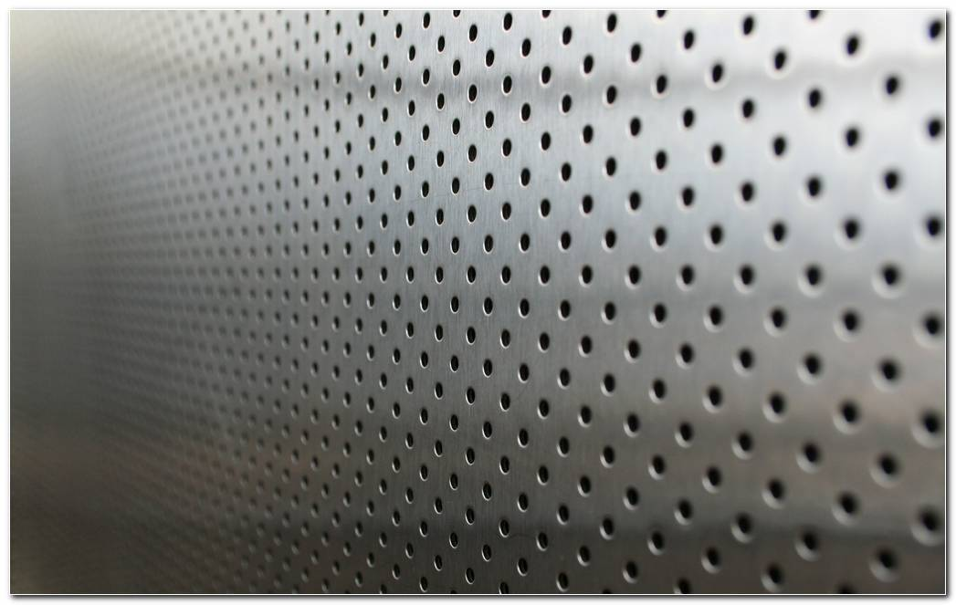 Metal  Points  Holes  Silver Background Wallpaper