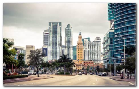 Miami USA HD Wallpaper