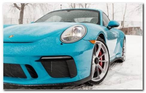 Miami Blue Porsche HD Wallpaper