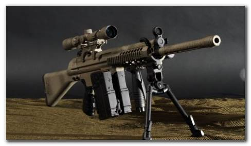 Military Sniper Rifle HD Wallpaper