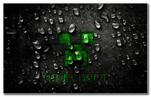 Minecraft Logo HD Wallpaper