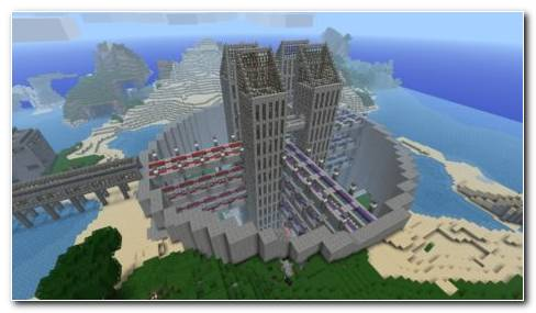 Minecraft Fantasy Architecture HD Wallpaper