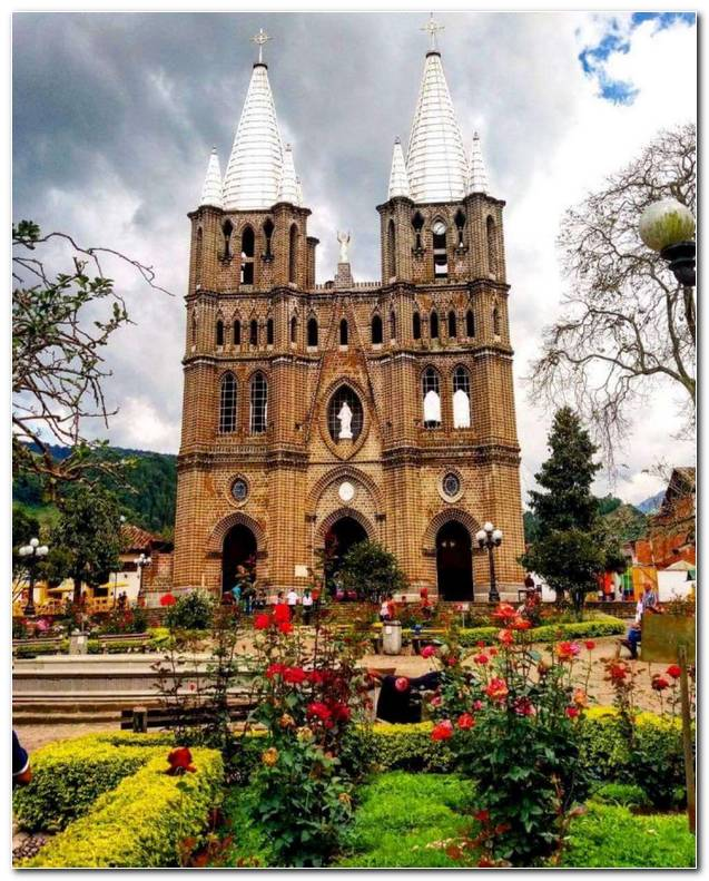 Minor Basilica Of The Immaculate Conception Jard?n Antioquia
