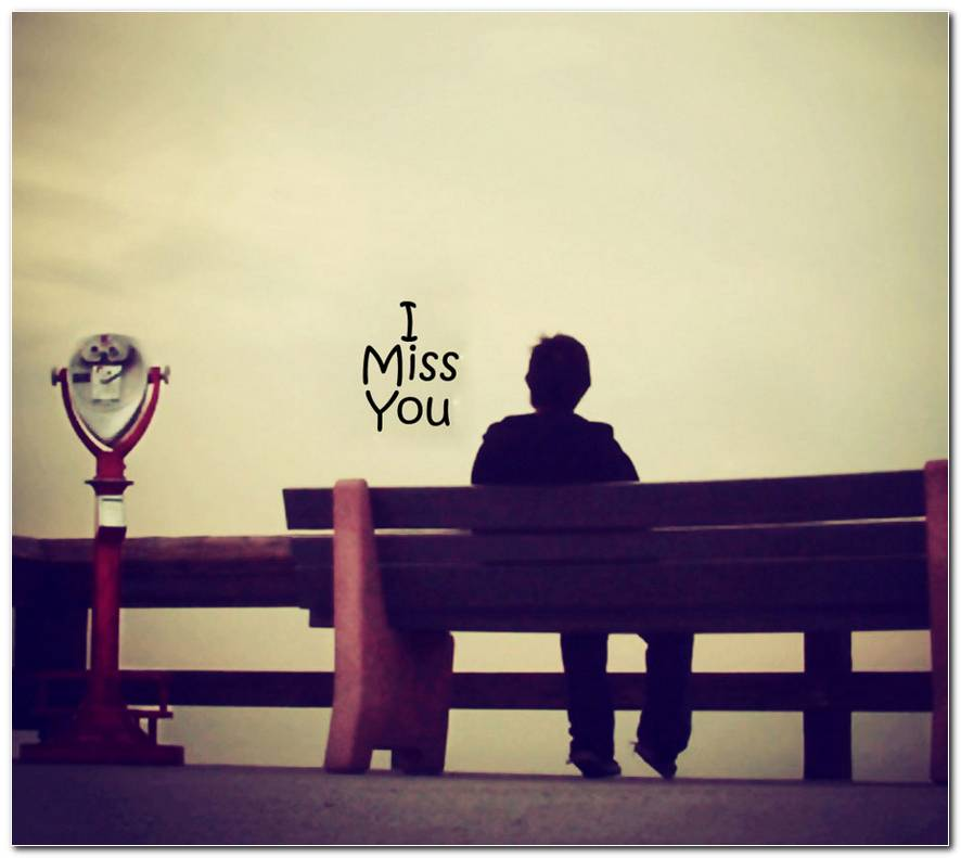 Miss You Love Background