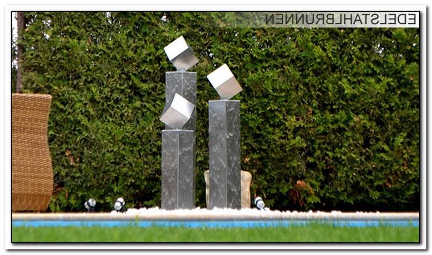 Moderne Skulpturen Garten Edelstahl