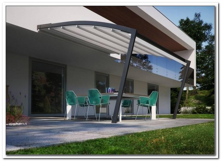 Moderne Terrassen?Berdachung Glas