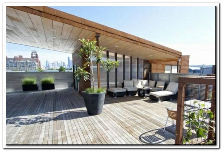 Moderne Terrassen?Berdachung Holz