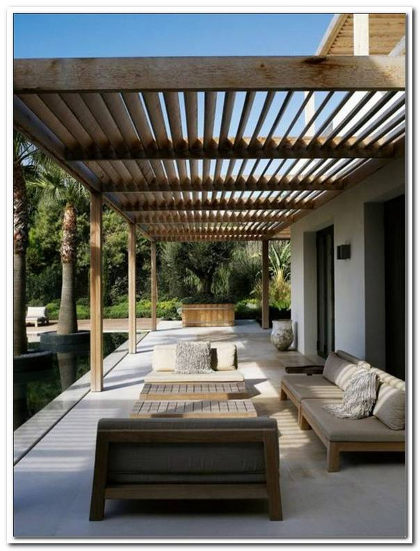 Moderne Terrassen?Berdachungen