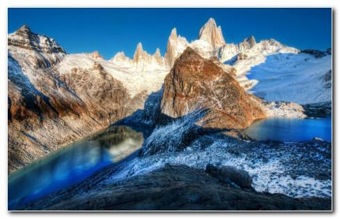 Monte Fitz Roy HD Wallpaper