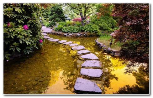 Most Beautiful Garden HD Wallpaper