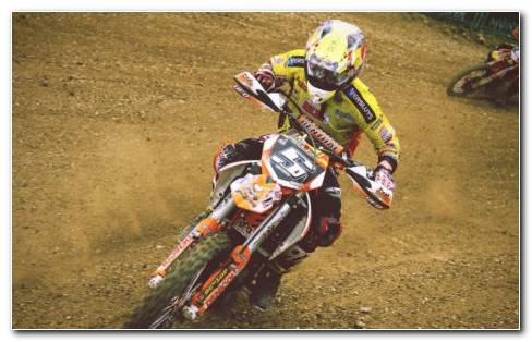 Motocross racing 2018 HD wallpaper