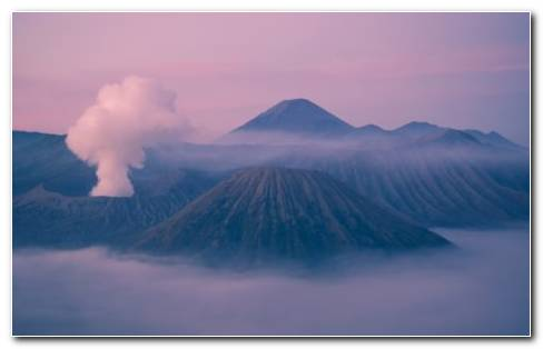 Mount Bromo HD Wallpaper