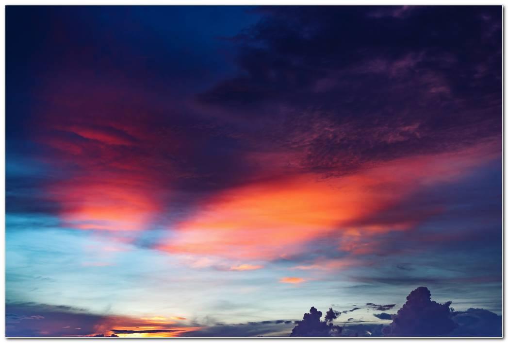 Mountain Hd Sunset Wallpaper