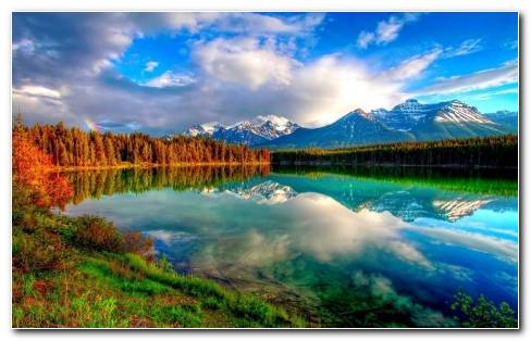 Mountain Reflected