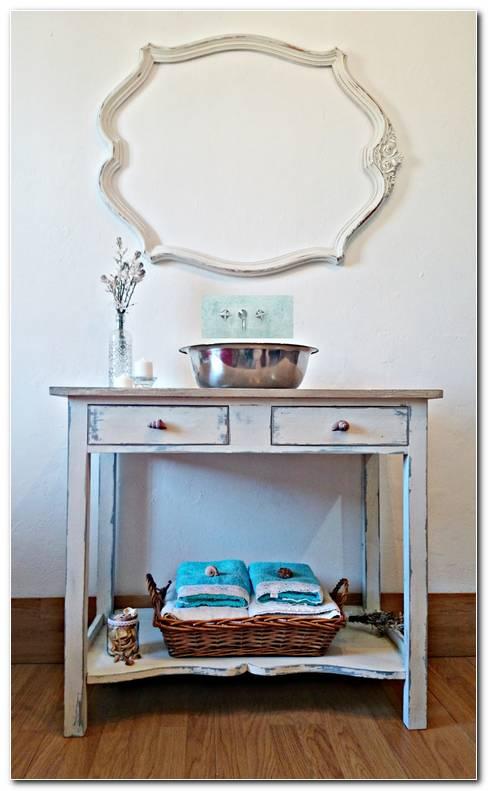 Mueble Artesanal Y Ba?o