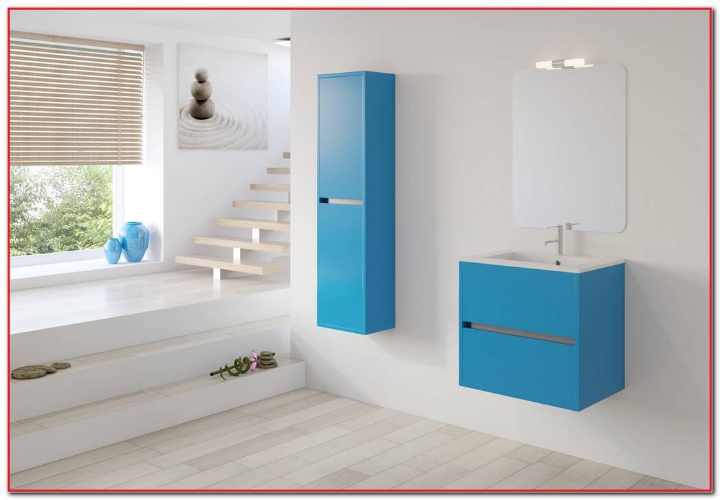 Mueble Ba?o Azul Turquesa