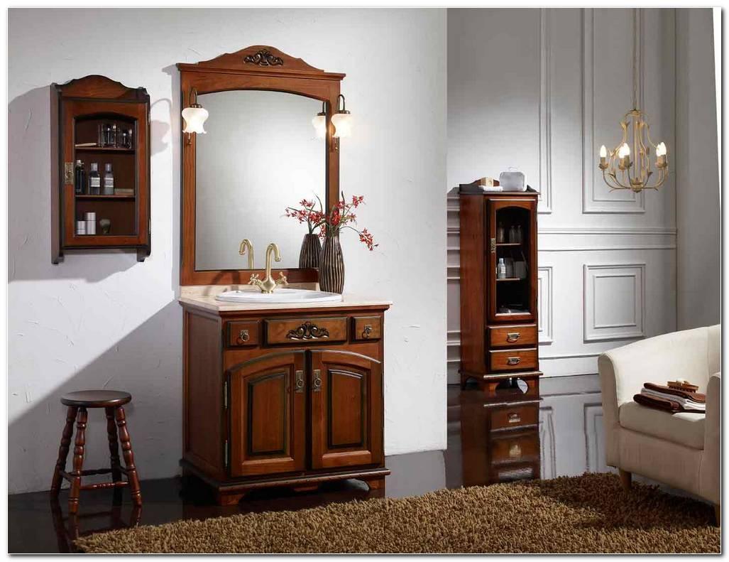 Mueble De Bao Rustico Oferta