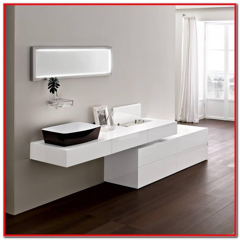 Muebles Ba?o Modernos Blanco
