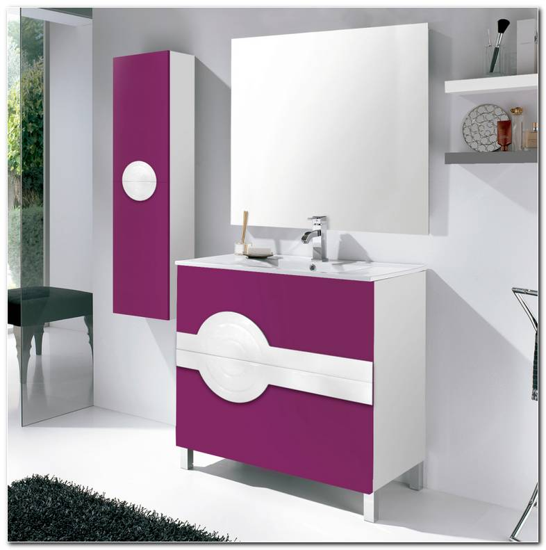 Muebles De Ba?o Color Morado
