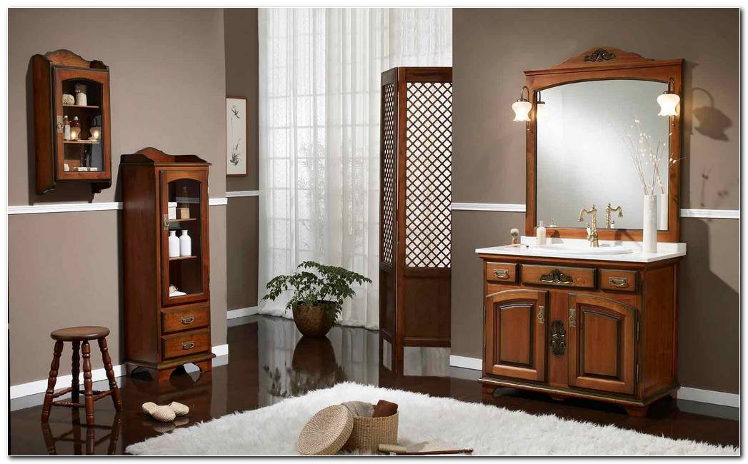 Muebles De Bao Estilo Rustico
