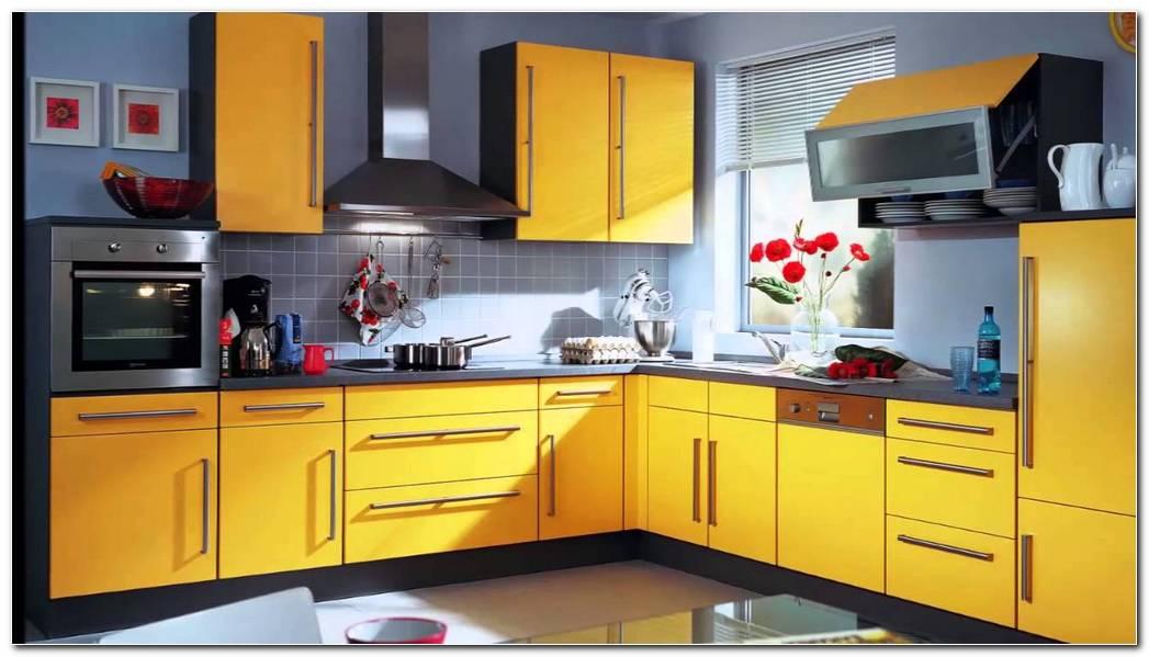 Muebles De Cocina Color Amarillo