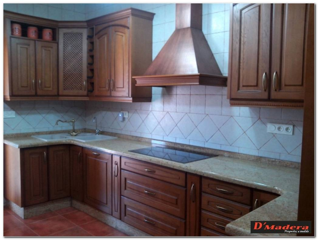 Muebles De Cocina Color Roble Oscuro