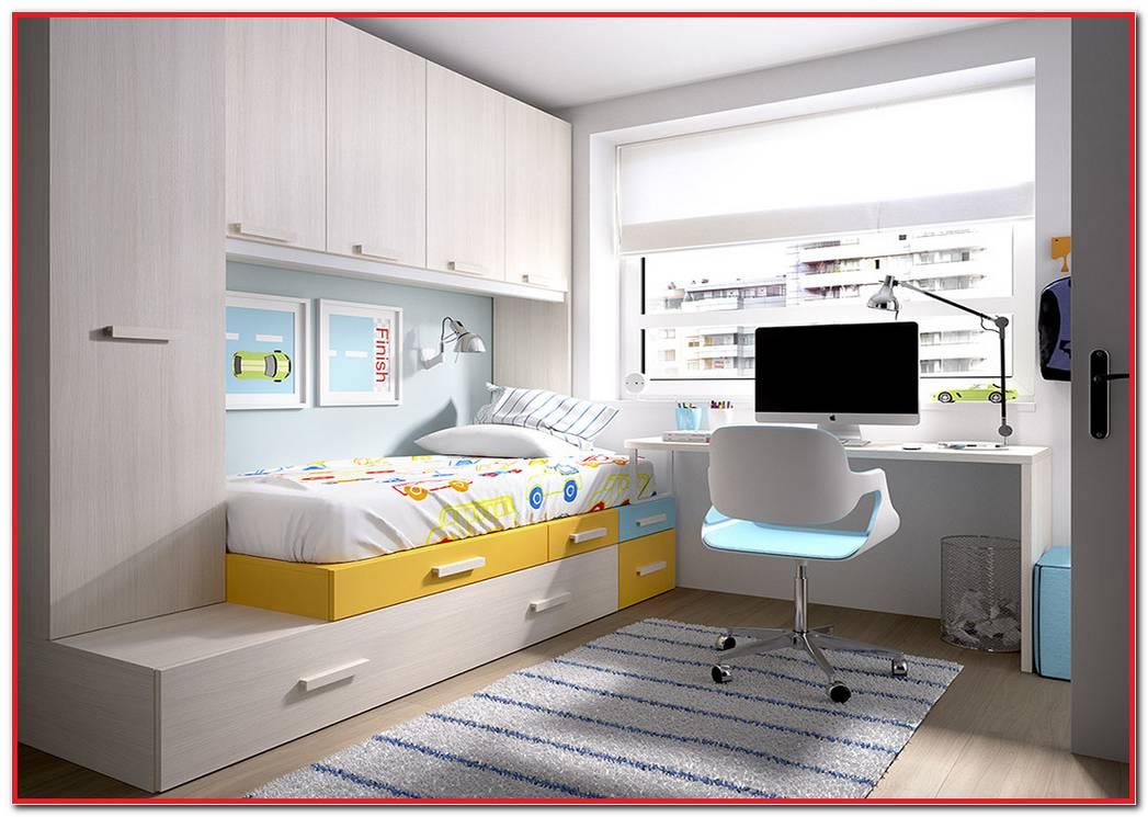 Muebles De Dormitorios Juveniles Para Espacios Reducidos