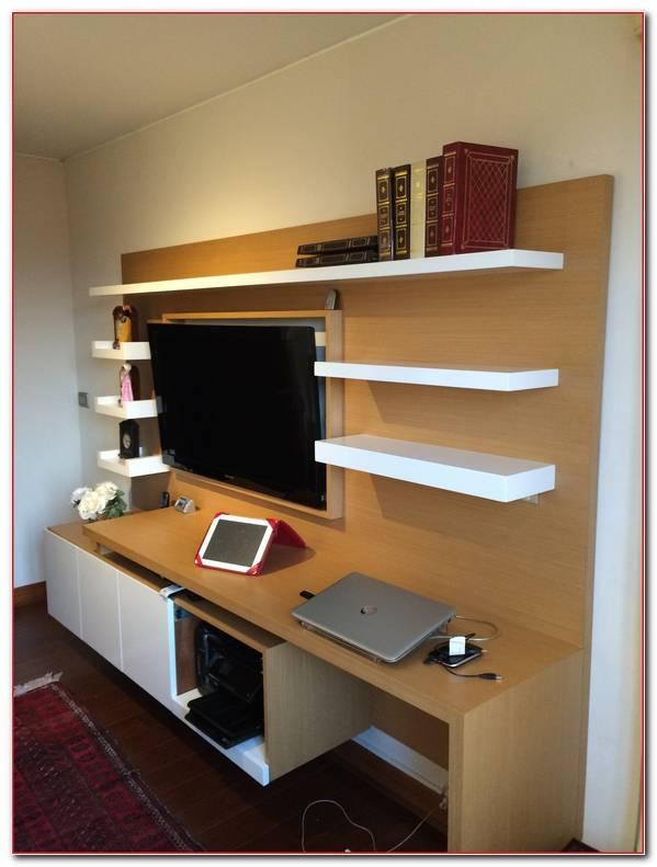 Muebles De Television Con Escritorio