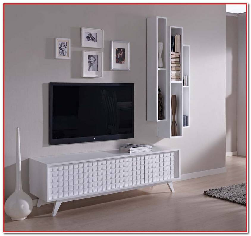 Muebles Salon Modernos Blancos