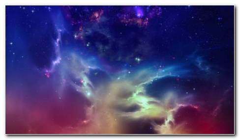 Multicolored Space HD Wallpaper