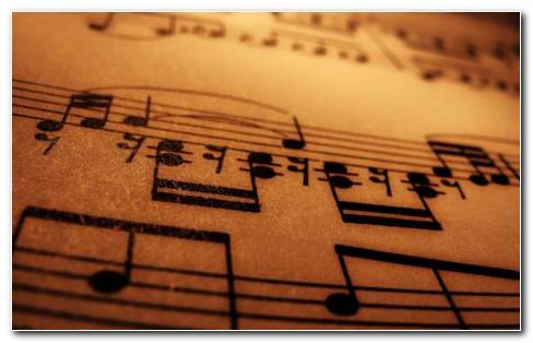 Musical Note HD Wallpaper