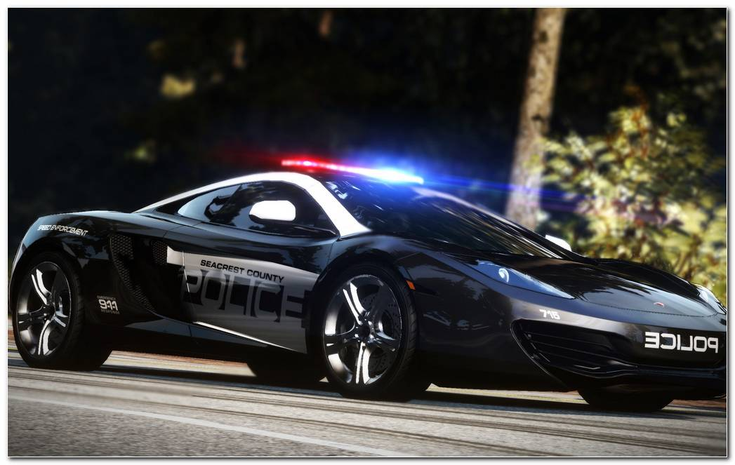 NFS Hot Pursuit Cop Car WALLPAPER 1920x1200