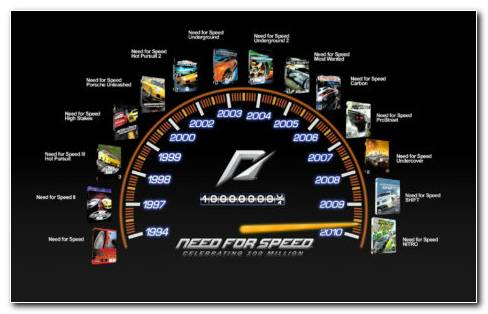NFS Speedometer HD Wallpaper