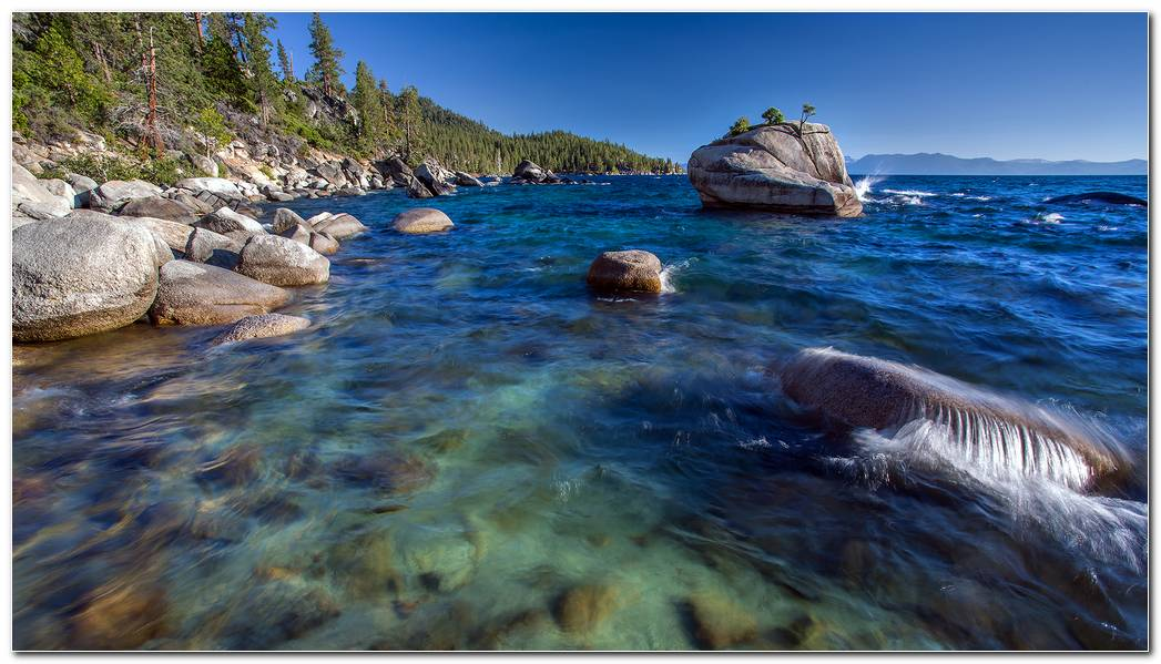 Nature Lake Tahoe Wallpaper