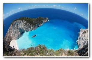 Navagio Beach HD Wallpaper