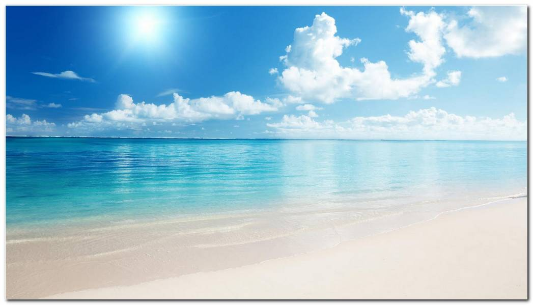 Neautiful Beach Sand Nature Wallpaper