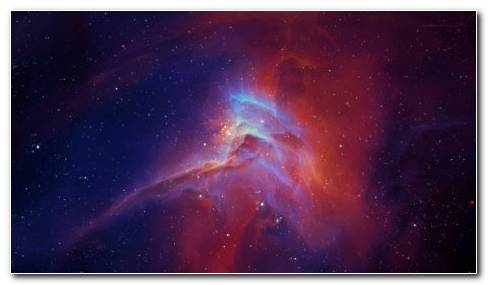 Nebula Star Glow HD wallpaper