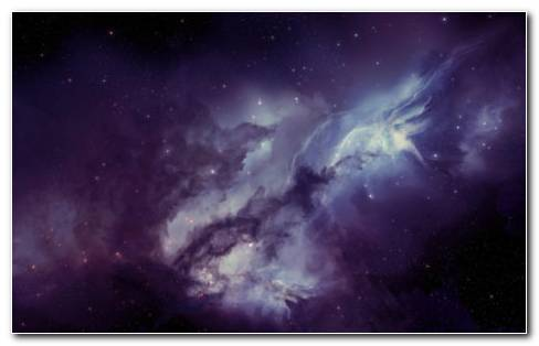 Nebula And Blurring Stars HD Wallpaper