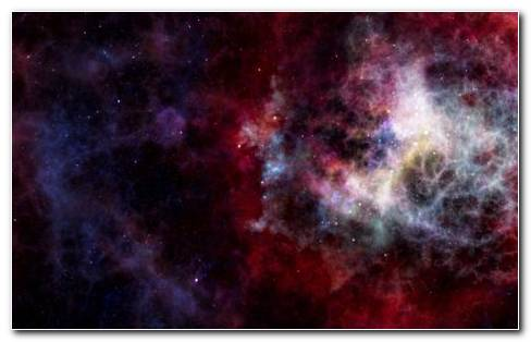 Nebula Colours HD Wallpaper