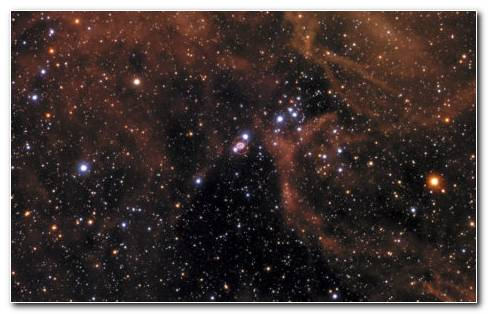 Nebula Tarantula HD Wallpaper